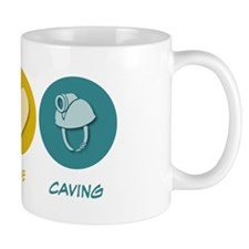 Peace Love Caving Mug