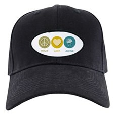 Peace Love Caving Baseball Hat