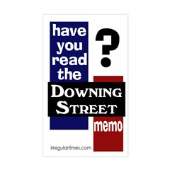 Downing Street Memo bumper sticker