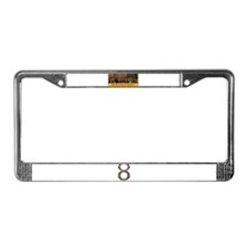 Unique Destini License Plate Frame