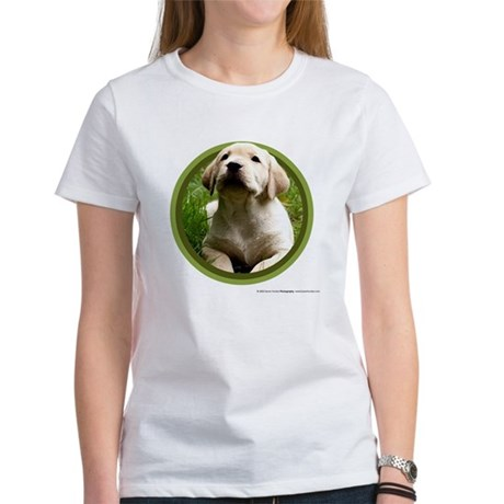 Yellow Lab Puppy Women's T-Shirt