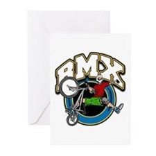 BMX Logo Greeting Cards (Pk of 10)