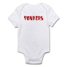 Yonkers Faded (Red) Infant Bodysuit