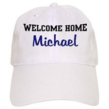 Welcome Home Michael Baseball Cap