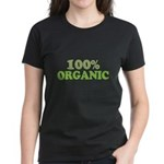 100 percent organic Women's Dark T-Shirt