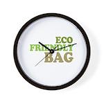 Eco Friendly Bag Wall Clock