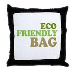 Eco Friendly Bag Throw Pillow