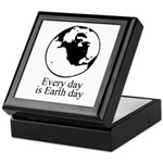 Every day is Earth Day Keepsake Box