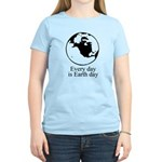 Every day is Earth Day Women's Light T-Shirt
