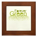 Forever Green Framed Tile