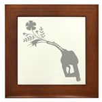 Biodiesel Bouquet Framed Tile