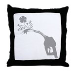 Biodiesel Bouquet Throw Pillow