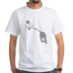 Biodiesel Bouquet White T-Shirt