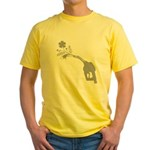 Biodiesel Bouquet Yellow T-Shirt