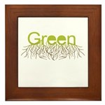 Green Framed Tile