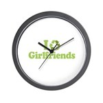 I recycle girlfriends Wall Clock