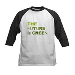 The Future is Green Kids Baseball Jersey