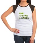 The Future is Green Women's Cap Sleeve T-Shirt