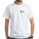 Reuse Reduce Recycle White T-Shirt