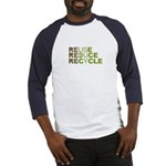 Reuse Reduce Recycle Baseball Jersey