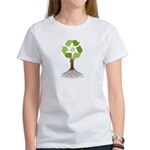 Recycling Tree Women's T-Shirt