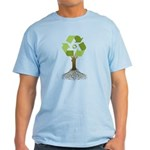 Recycling Tree Light T-Shirt