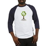 Recycling Tree Baseball Jersey