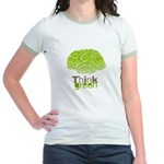 Think Green Jr. Ringer T-Shirt