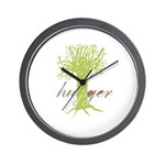 Tree Hugger Shirt Wall Clock