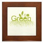 Earth Day T-shirts Framed Tile
