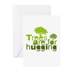 Trees are for hugging Greeting Cards (Pk of 20)