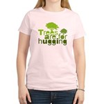 Trees are for hugging Women's Light T-Shirt
