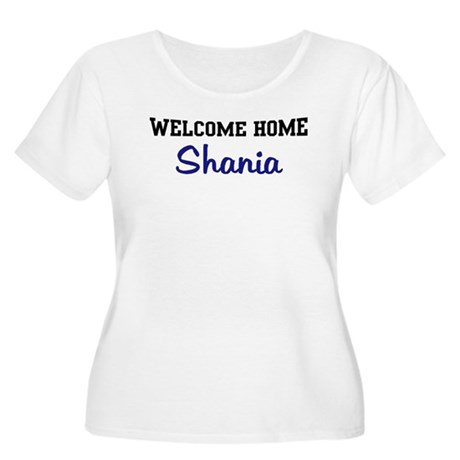 Welcome Home Shania Women's Plus Size Scoop Neck T