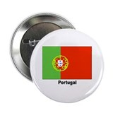 "Portugal Portuguese Flag 2.25"" Button (10 pack)"