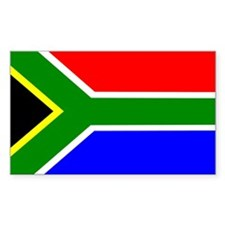 South Africa Rectangle Sticker 50 pk)