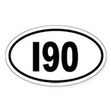 I90 Oval Decal