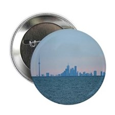 "Toronto Skyline At Sunset 2.25"" Button (10 pack)"