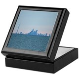 Toronto Skyline At Sunset Keepsake Box