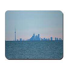Toronto Skyline At Sunset Mousepad