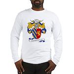 Hermosilla Family Crest Long Sleeve T-Shirt