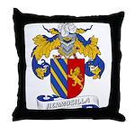 Hermosilla Family Crest Throw Pillow