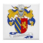 Hermosilla Family Crest Tile Coaster