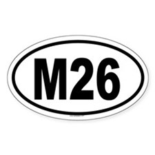 M26 Oval Decal