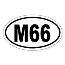 M66 Oval Decal