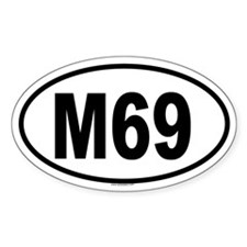 M69 Oval Decal