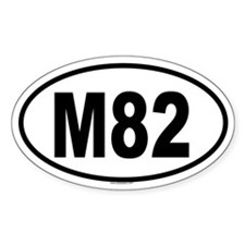 M82 Oval Decal