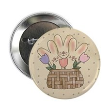 "Country Bunnies 2.25"" Button (10 pack)"