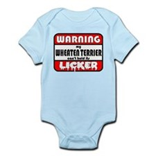Wheaten Terrier LICKER Infant Bodysuit