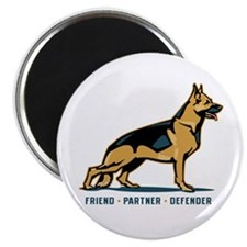 German Shepherd Friend Magnet