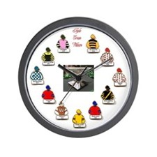 Triple Crown Wall Clock